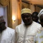 Gambia's President Adama Barrow is seen in Dakar, Senegal January 20, 2017 after a senior aide confirmed that Gambia's longtime leader Yahya Jammeh has agreed to leave power